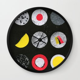 Kimbap Wall Clock