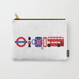 Welcome to London Carry-All Pouch