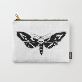 Skull Moth Carry-All Pouch