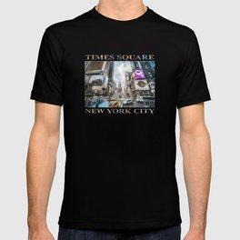 Times Square Traffic (digitally painted) T-shirt