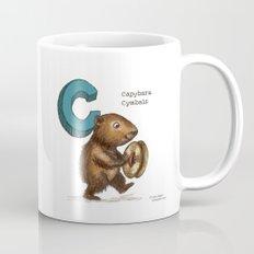 Animals & Instruments ABCs – C Coffee Mug