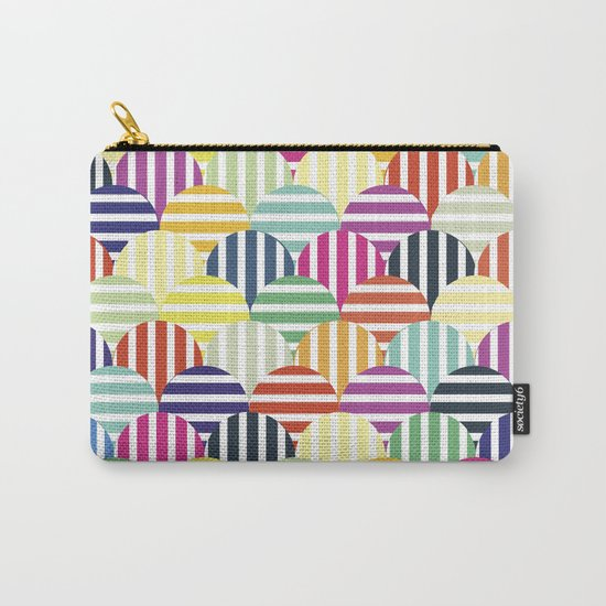Colorful Circles IV Carry-All Pouch