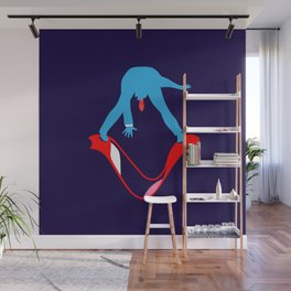 Aggressively Yours Man Eater Wall Mural