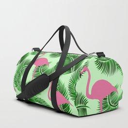 Flamingo tropical pattern Duffle Bag