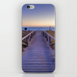 The path..., the beach.... iPhone Skin