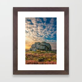 Sunset by Hitching Stone Framed Art Print