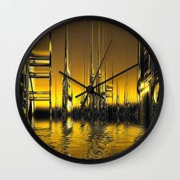 Futurescape Wall Clock
