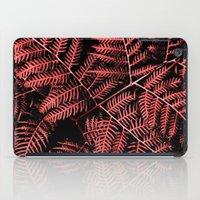 burgundy iPad Cases featuring Burgundy Bracken by Moonshine Paradise