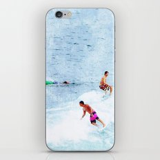 Surfing Time iPhone & iPod Skin