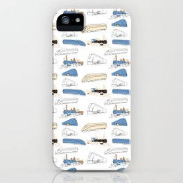 Trains iPhone Case