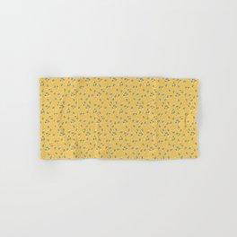 Wind Flower in Yellow Hand & Bath Towel