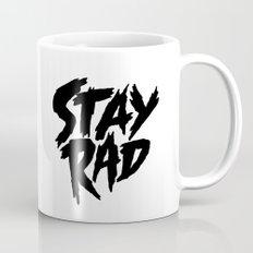Stay Rad (on White) Mug