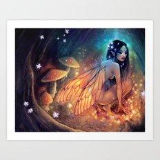 Fairydust Nest Art Print
