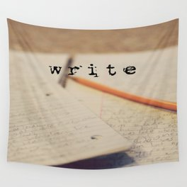 write Wall Tapestry