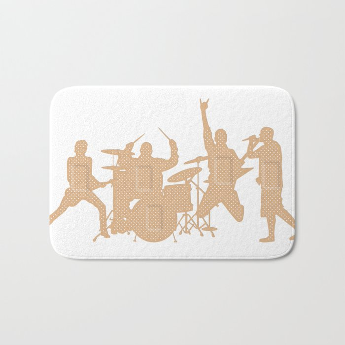 Band Aids Bath Mat