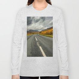 Winding Welsh Road Long Sleeve T-shirt