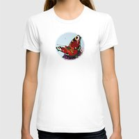 butterfly T-shirts featuring Butterfly   by Marjolein
