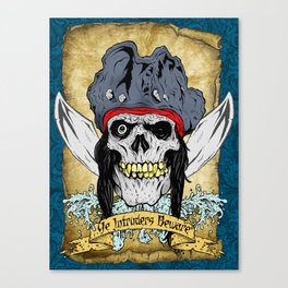 One-Eyed Willy Canvas Print