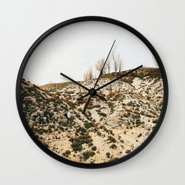 Arid landscape of Monachil, Spain - Travel photography Wall Clock
