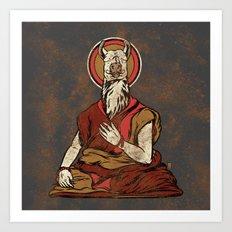 Dali Lama Art Print