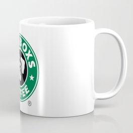 Starboxs Coffee - Boxer Coffee Logo Coffee Mug
