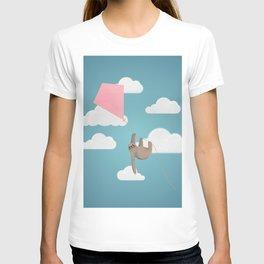 Flying sloth T-shirt