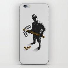 Miner iPhone & iPod Skin