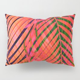 COLORFUL TROPICAL LEAVES no2 Pillow Sham