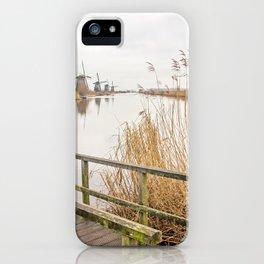 Kinderdijk- Windmills iPhone Case