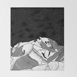 Mont Blanc Throw Blanket