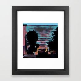 Coastal View Three Framed Art Print