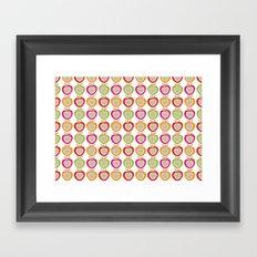 Juicy Apples Framed Art Print