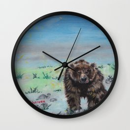Barely awake Wall Clock