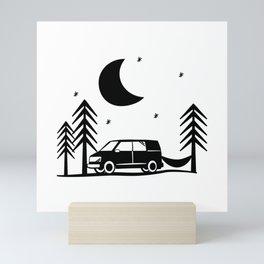 Out Among the Stars Mini Art Print