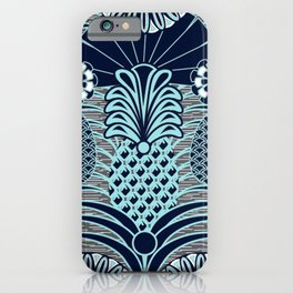 Arty Pineapples iPhone Case