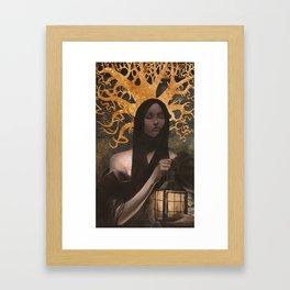 Widow's Tale Framed Art Print