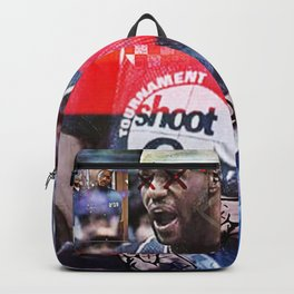 """KING JAMES NOT WITH THE SHXTS"" Backpack"