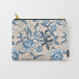 Seaside Floral Carry-All Pouch