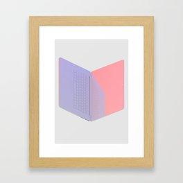 Computer Draft (#7) Framed Art Print