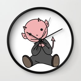 Le Petit Diable Wall Clock