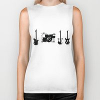 mortal instruments Biker Tanks featuring Instruments by Alexa Reyes