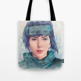 The Major (Scarlett Johansson) Tote Bag