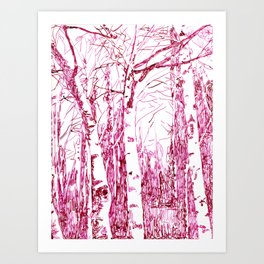 trees I Art Print