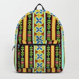 Elizabethan Folkloric Stripe Backpack
