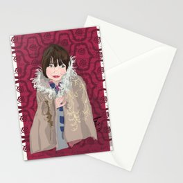 Marnie's coat Stationery Cards