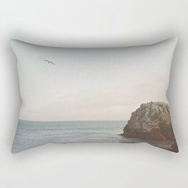 A Break From the Pack in Big Sur Rectangular Pillow