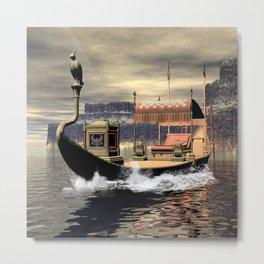 Sacred barge Metal Print