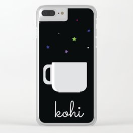 Coffee Is The Life Saver Clear iPhone Case
