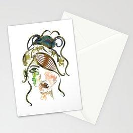 """'Kyra"""" Illustration Stationery Cards"""
