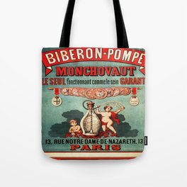 Vintage poster - Biberon-Pompe Tote Bag